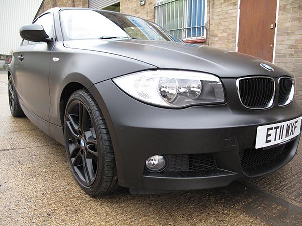 BMW 1 series matt black
