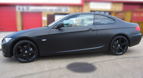3 Series Matt Black