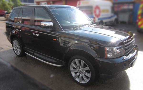 Rang Rover wrap