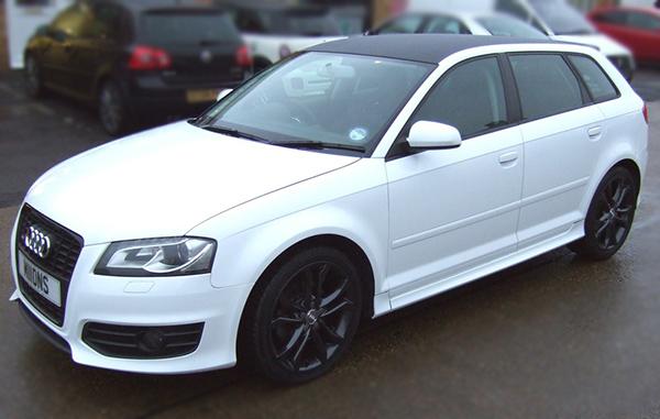 Audi S3 wrap