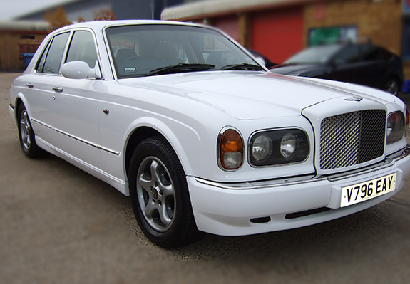 Bentley Gloss White wrap