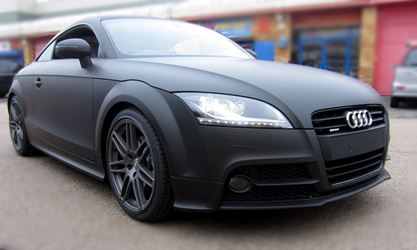 Audi TT Matt Black + Carbon