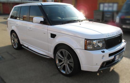 Range Rover wrap