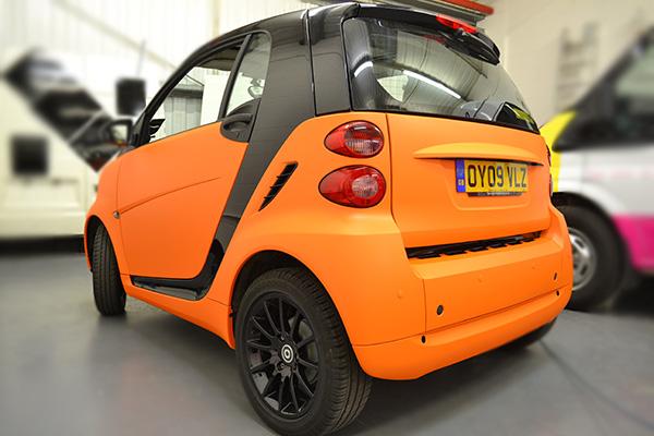 Smart ForTwo Matt Orange