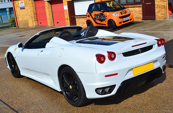 Ferrari 430 wrap