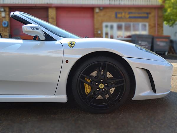 Ferrari white wrap