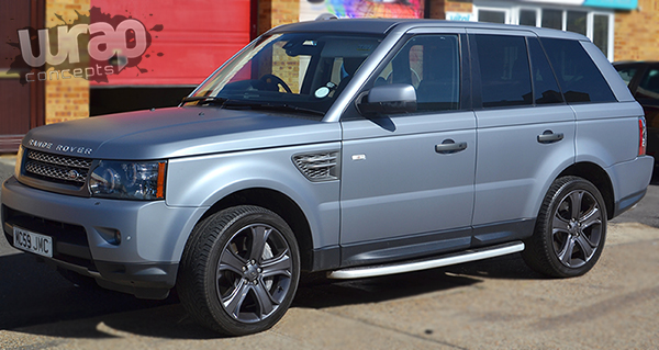 Range Rover wrap essex