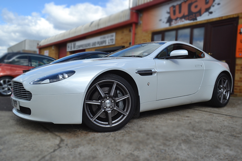 Aston Martin wrap