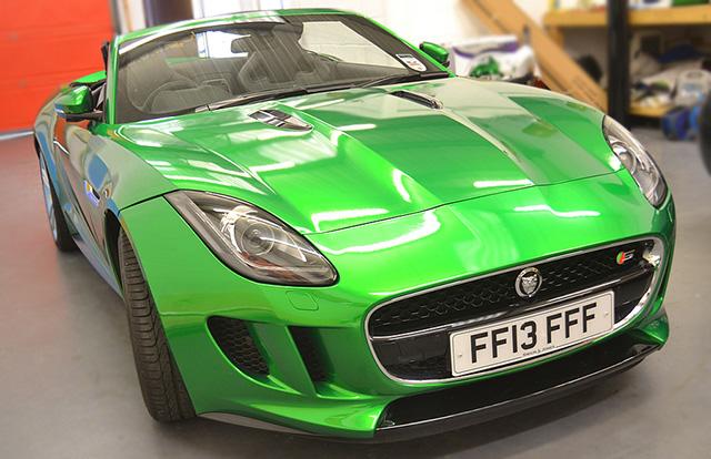 jaguar f-type wrap