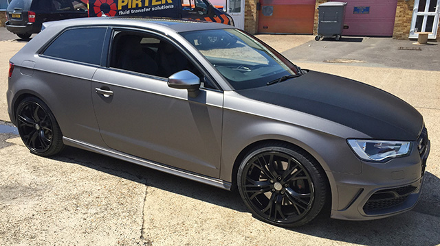 Audi wrap essex