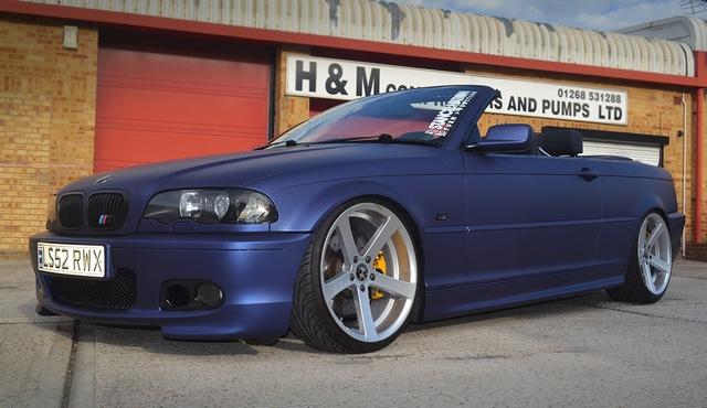 BMW car wrap