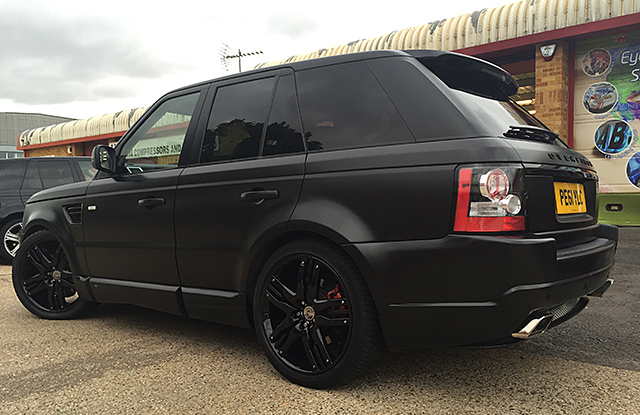 Range Rover wrap essex
