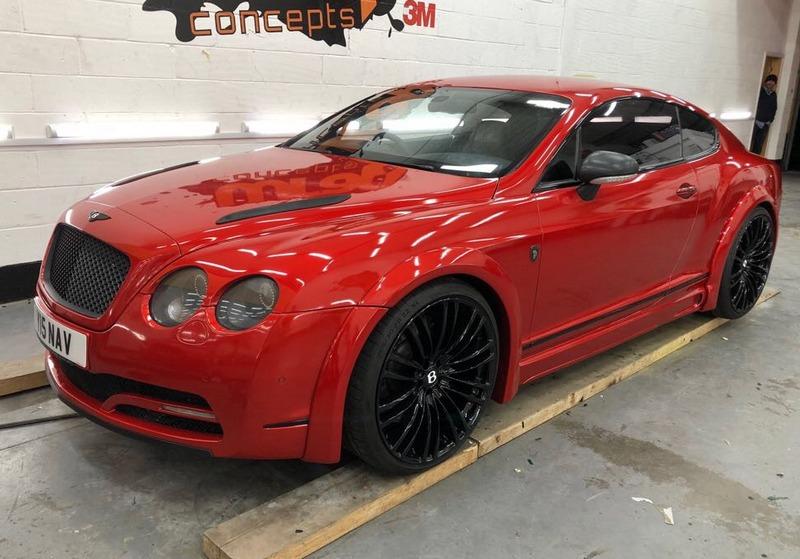 Bentley Continental wrap