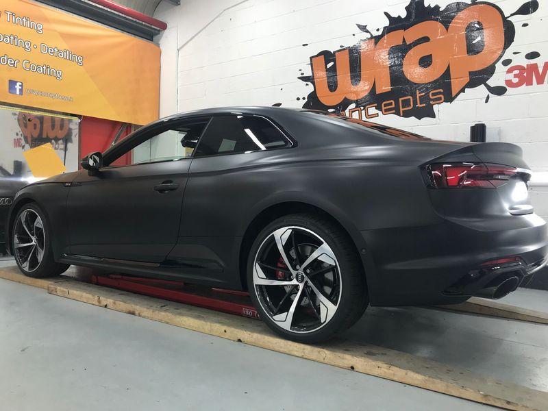 Audi RS5 wrap