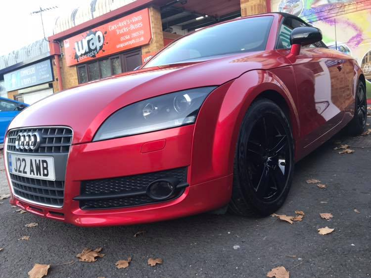Audi TT wrap