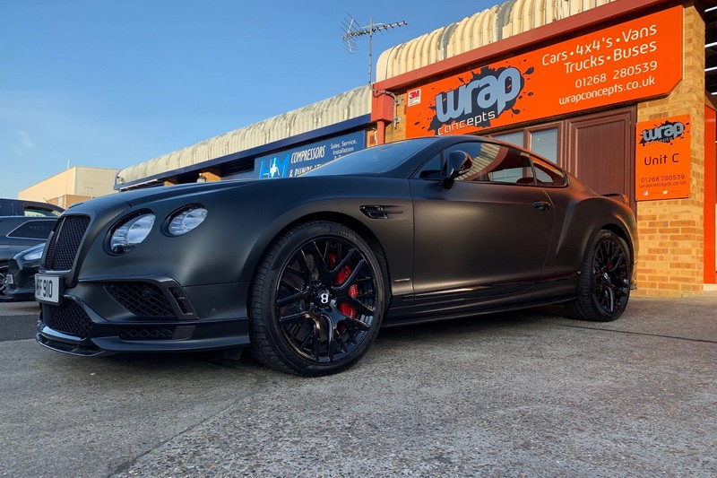 Bentley wrap